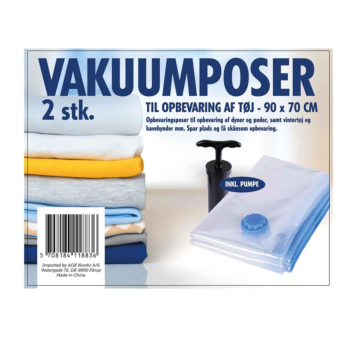 Picture of: Vakuumpose Til Toj M Pumpe 2 Stk Goshop Dk